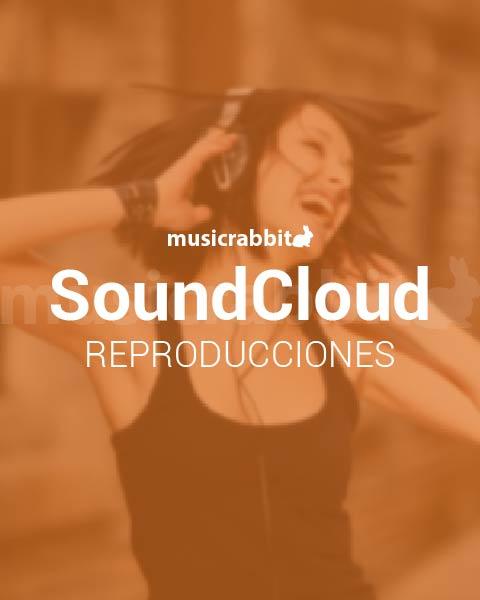 Reproducciones en Soundcloud