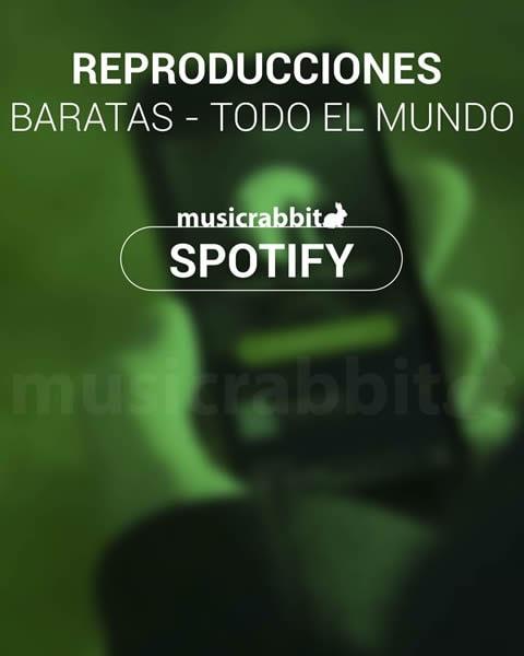 Reproducciones Spotify Baratas